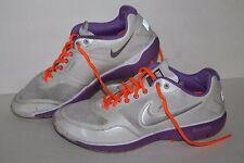 Nike Free XT Everyday + Running Shoes, #429844-103, Wht/Ppl/Slvr, Women's US 9