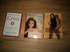 3 Self Improvement Books Laura Day AND Cooper Lawrence AND Maria Celeste