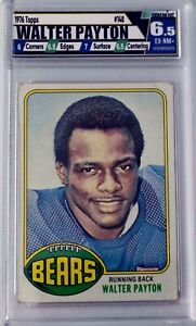 Walter Payton -1976 Topps #148 RC Rookie - Chicago Bears - Graded 6.5 EX-NM+