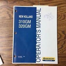 New Holland 310gm 320gm Finish Mower Operator Manual Maintenance Guide 87757958