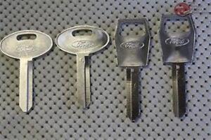 87-93 Mustang 83-88 Escort 79-90 Ford Mercury Lincoln Key Blanks Set Of 4