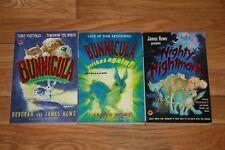 Lot of 3 books Bunnicula & Bunnicula Strikes Again & Nighty-Nightmare James Howe