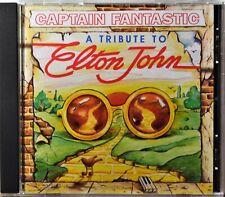 CD Captain Fantastic Bluegrass Tribute to Elton John CLEAN Extra Discs Ship Free