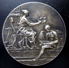 ART MEDAL / FRANCE ( A. RIVET ) / Bronze Medal / 50 mm / N114