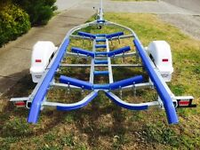 Precision boat trailer 5.2 mt SUIT ALLOY BOAT galvanised drive on.. 14ft-16ft