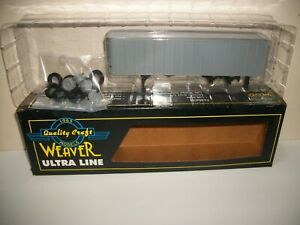 Weaver 35' TRAILER undecorated U25000 O gauge / scale NIB A