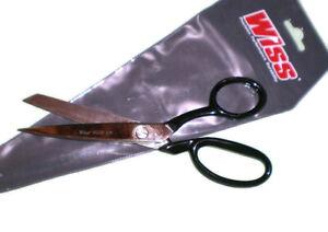 "Wiss 428 New 8"" Dress Maker Bent Handle Scissor Industrial Shears"