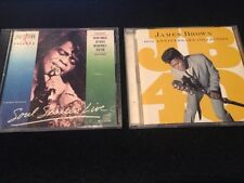 JAMES BROWN Lot • 40th Anniversary Collection & Soul Session Live Greatest Hits