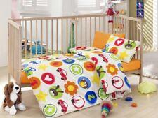 Mehrfarbige Kinder Bettwäsche Set 4 tlg.
