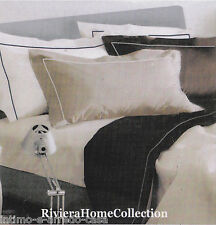 Set Sheets Percale Riviera House Collection. Double Pink And Avio