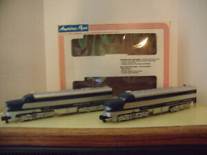 MISSOURI PACIFIC PA DIESEL ENGINES, A POWERED AND DUMMY UNIT SET, S SCALE 48112
