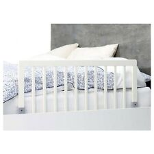 Security fence wooden white bed for baby dan
