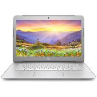 """NEW HP Chromebook 14"""" FHD Intel Quad Core N2940 4GB RAM 16GB eMMC Webcam BT"""