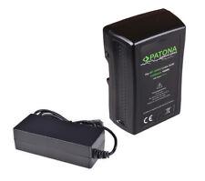 Patona V-Mount Akku mit 190Wh mit D-Tap und USB Ausgang + Ladegerät