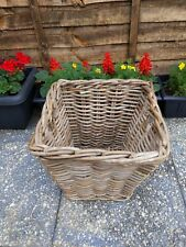 Vintage Wicker Storage- Display Basket - Great! -