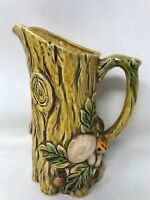 """Vintage Mid Century Lefton Pitcher Mushroom Japan Ceramic 7"""""""