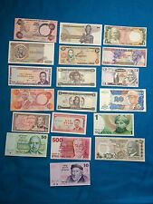 World Bank Notes Some UNC Few From Zaire 19 Note Lot