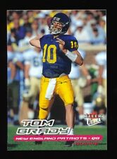TOM BRADY 2000 FLEER ULTRA RC ROOKIE CARD *NEW ENGLAND PATRIOTS SUPER BOWL MVP