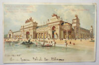Antique HTL POSTCARD Hold to Light St. Louis World's Fair Palace of Liberal Arts