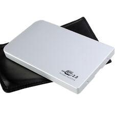 USB 2.0 2.5 inch Aluminum Super Slim IDE HDD Hard Drive Disk Enclosure Case hot