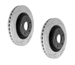 Bendix Ultimate Slotted & Dimpled Brake Rotor Pair Front BR2028