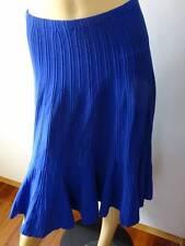 New With Tags  ALBERTA FERRETTI  High Waist Flared Knit Midi Skirt  - Sz 10 -