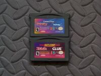 Lot Nintendo Game Boy Advance 3 in 1 Board Games Connect 4 Trouble Perfection