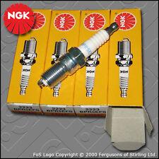 NGK SPARK PLUG SET for FORD FIESTA MK4 / MK5 1.3 8V (1995-2002)