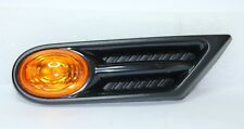 OEM BMW MINI R56 R57 ORANGE LEFT SIDE INDICATOR REPEATER SCUTTLE TRIM BLINKERS