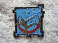 INSIGNE 402 . ARTILLERIE . D.C.A  411 /  D.A.T / III° Groupe . WW 2 . LOCAL  AFN