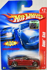 HOT WHEELS 2007 CODE CAR AMG-MERCEDES CLK DTM #17/24 RED FACTORY SEALED