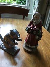 Santa countdown and squirrel nut cracker