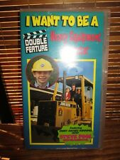 I want to Be a Heavy Equipment Operator VHS Video Tape (NEW)