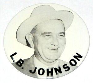 1964 LBJ LYNDON B. JOHNSON campaign pin pinback button political presidential