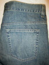 Old Navy Loose Straight Leg Mens Blue Denim Jeans Size 32 x 32