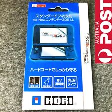 New Clear Top with Bottom LCD Screen Protector Guard Film for NEW 3DSLL XL