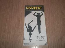 "THEATRE ROYAL BATH "" RAMBERT "" THEATRE HANDBILL / FLYER"