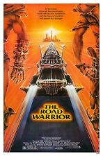 THE ROAD WARRIOR  (1981) ORIGINAL MOVIE POSTER  -  ROLLED