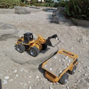 Super Power RC Car Tipper Dump Truck Model Remote Control Alloy Engineering Gift