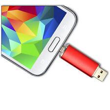 PENDRIVE CHIAVETTA USB 64 GB PER PC + PORTA MICRO PER SMARTPHONE, TABLET