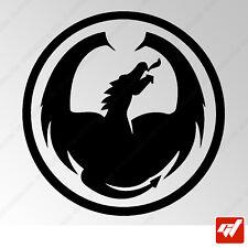 Sticker Dragon Tribal 100x96mm Peganitas aufkleber autocollant - TRIB015