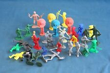 vintage and new lot 30 army toy Soldier Indians and knights 1980's 1990's +