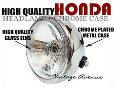 "HONDA SL100 SL125 XL100 S XL125 XL125S XL175 XL185 HEAD LIGHT 6V + CASE 6"" [V]"