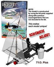 Uberstix UberFO UFO Flying & Pirate Ship Object Construction Set for Kids 142 pc
