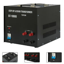 Step Up&Down Transformer 10000W Voltage Converter Electric Power 110/220V Output