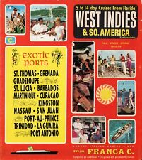 1963-64 Costa FRANCA C. Cruise Plan w/ Interiors - NAUTIQUES sHiPs WORLDWIDE
