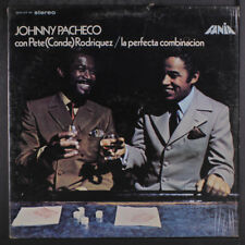 JOHNNY PACHECO & PETE CONDE RODRIGUEZ: La Perfecta Combinacion LP (in shrink)
