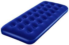 Bestway Inflatable Blow Up Flocked Camping Holiday Travel Guest Air Bed Single