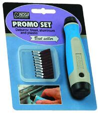 Noga Promo Deburring Tool Set 10 Piece Deburr Steel Aluminum Plastic NG8000 TBL4