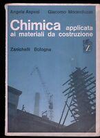 CHIMICA applicata ai materiali da costruzione  aspesi moranduzzo zanichelli